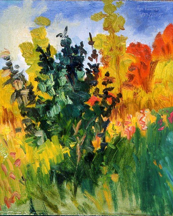 """Study for """"Autumn Bouquet"""""""