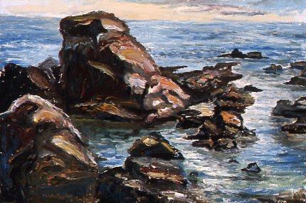 Sea in Santa Marinella