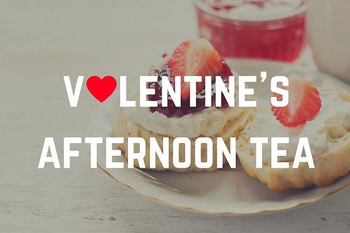 Valentine's afternoon tea