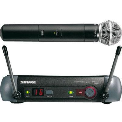 SHURE RADIOMICROFONO PGX24E/SM58