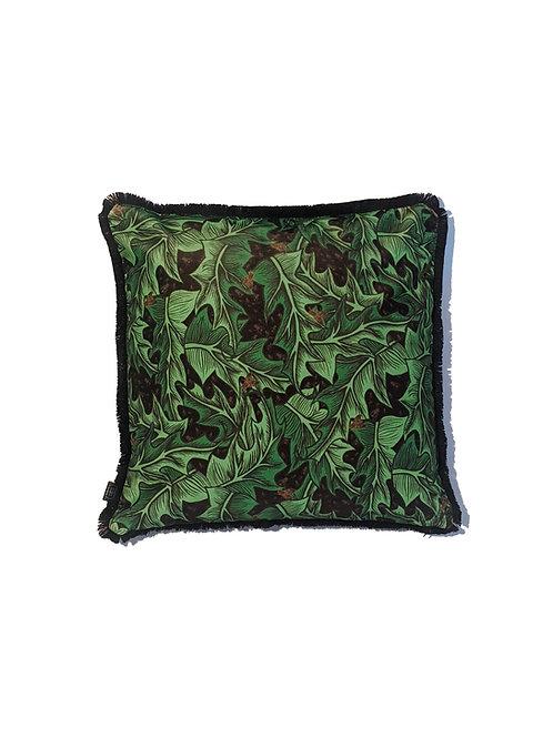 Henbane Velvet Cushion