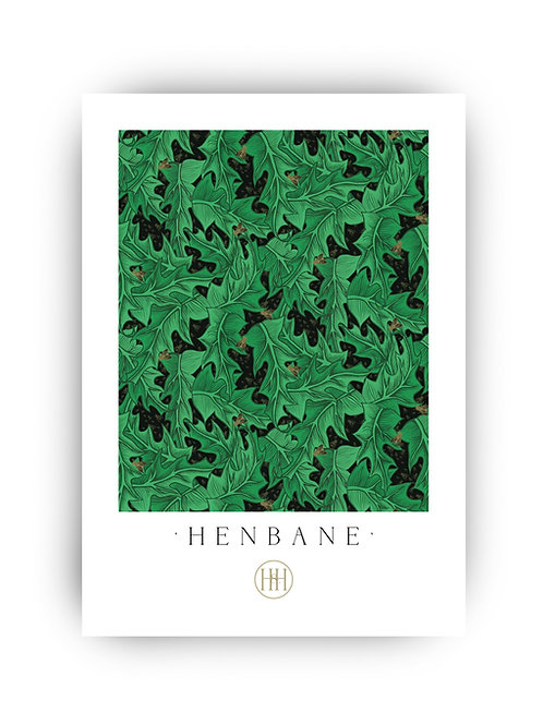 'Henbane' Fine Art Print