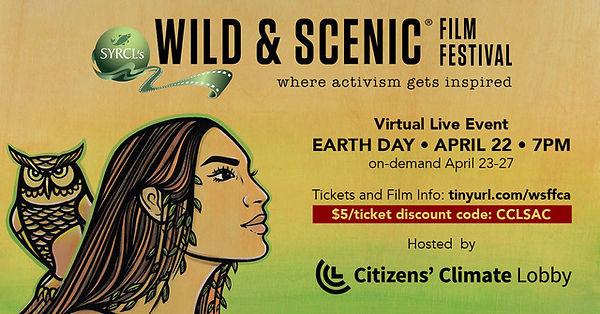 SacCCL Earth Day Event Wild&ScenicFF.jpe