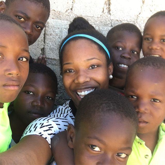 My friends from a children's home in Haiti!
