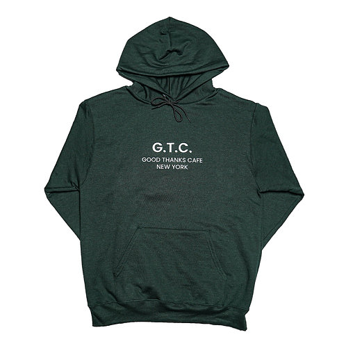 GTC Hoodie - Forest Green (medium only)