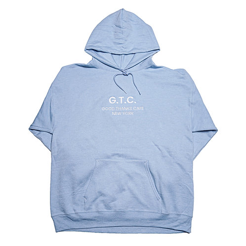 GTC Hoodie - Pale Blue (large only)