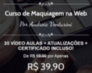 Valor Curso Maquiagem na Web -  Mil tons