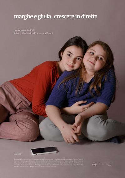 """""""Marghe e Giulia - Crescere in diretta"""" by Alberto Gottardo e Francesca Sironi, on Sky Atl"""