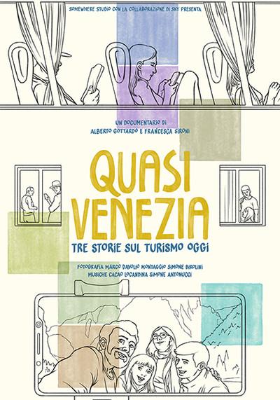 """Il racconto del reale of  SKY Atlantic and """"Quasi Venezia"""" by Alberto Gottardo and Frances"""