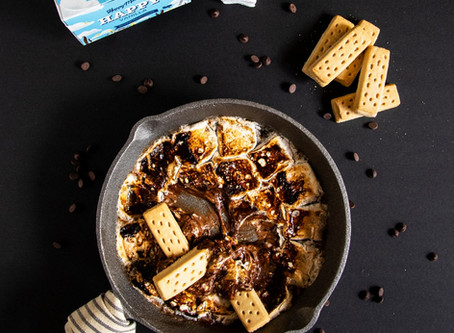 A Simple S'mores Dip