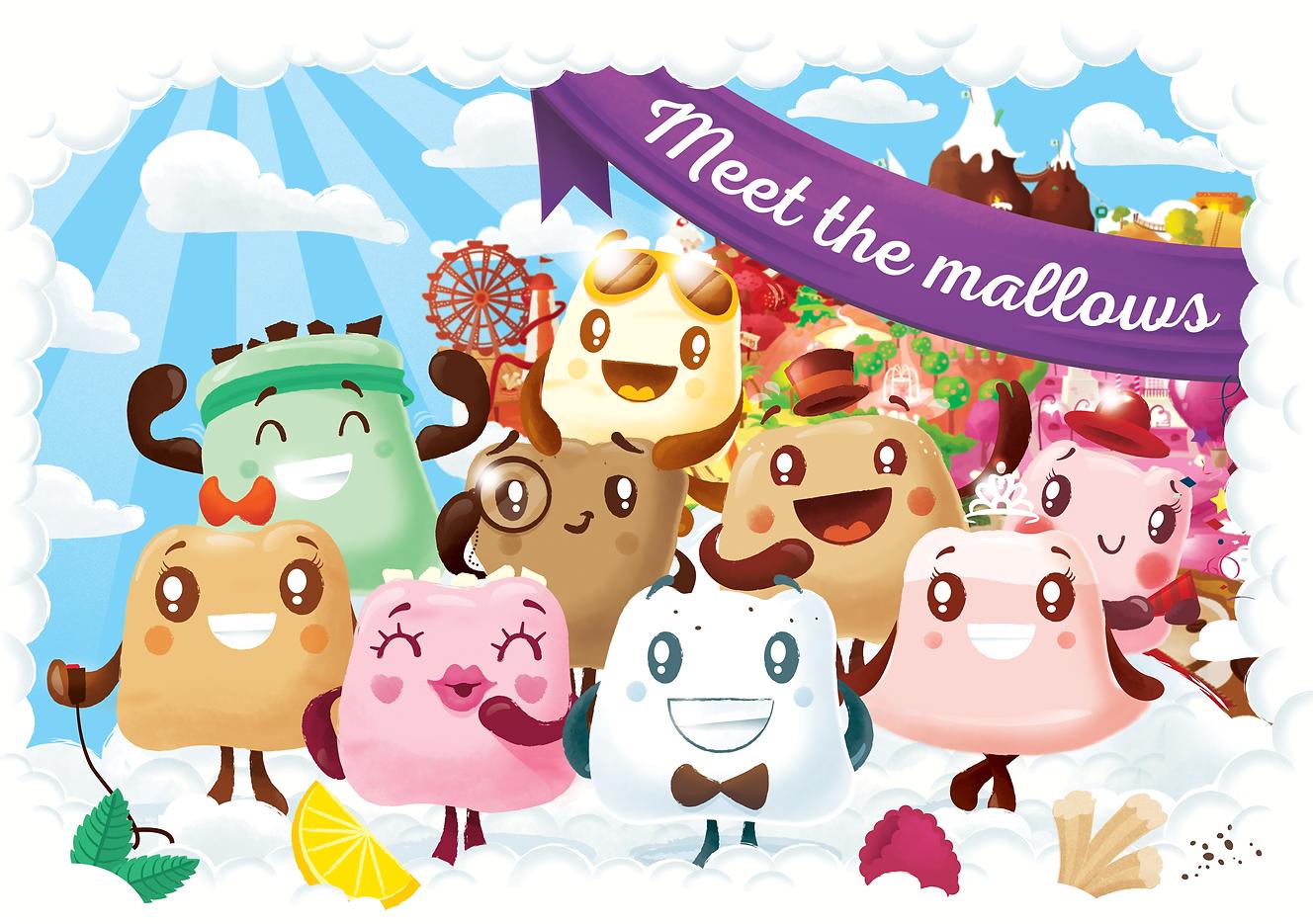 Happy Mallows Gourmet Marshmallows