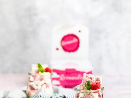 Raspberry & White Chocolate     Eton Mess