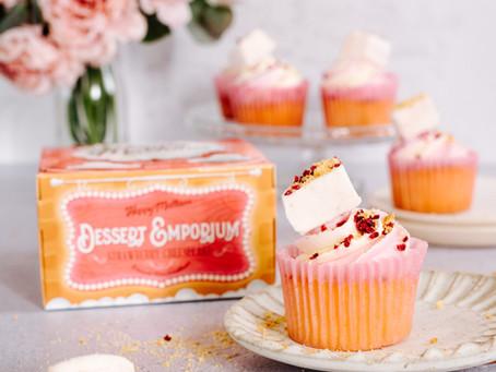 Strawberry Sprinkle Cupcakes