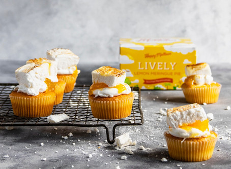 Lemon Meringue Mallow Cupcakes