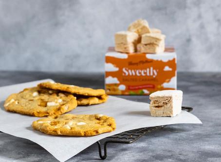Salted Caramel Mallow Cookies