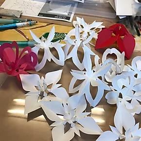 ゴミ拾い、「折花」講習会、モンゴル式整体その2