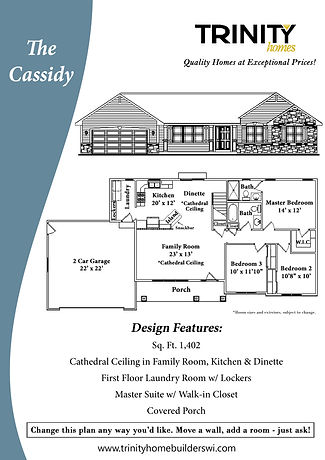 Cassidy Floor Plan