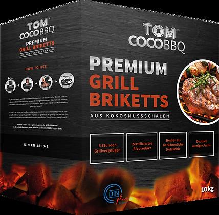 TOM CocoBBQ Premium Grill-Briketts