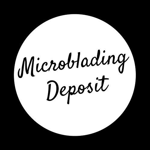 Microblading deposit