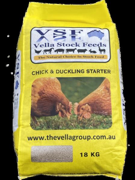Poultry: Vella Chicken & Duck Starter