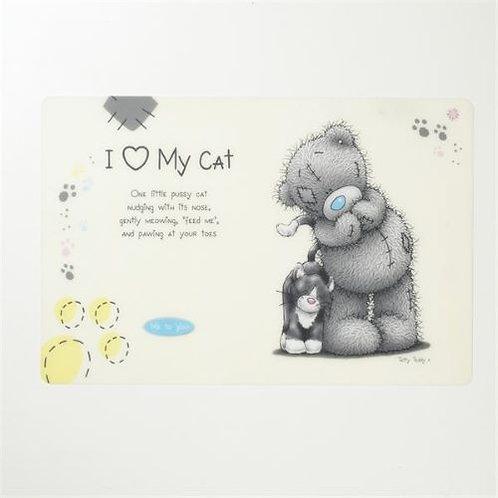 Me To You: Cat Feeding Mat White