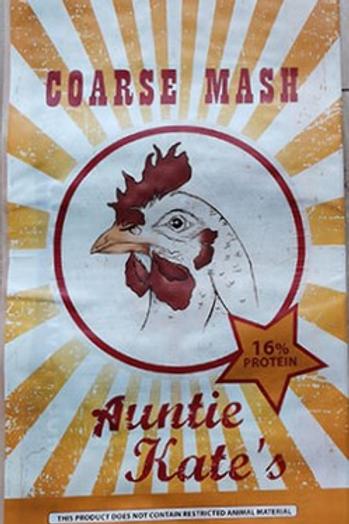 Poultry: Avigrain Coarse Mash: Auntie Kate's