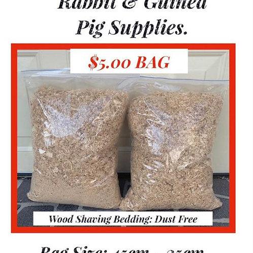 1Bag: Rabbit & Guinea Pig: Shavings