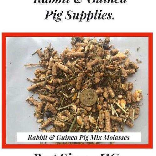 Rabbit & Guinea Pig: Molasses Mix.