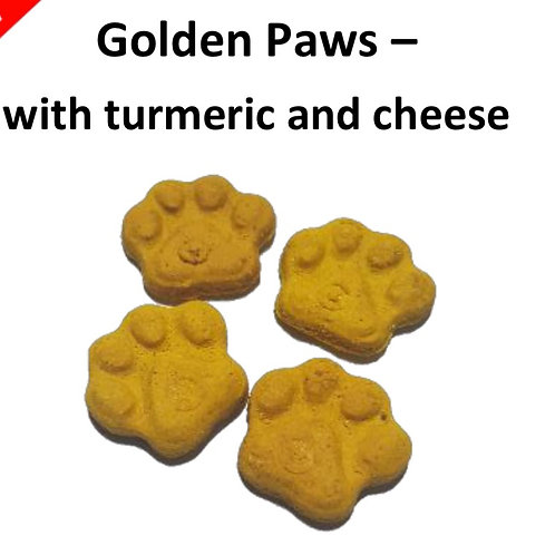 100g Dog Treats Grain Free: Golden Paws