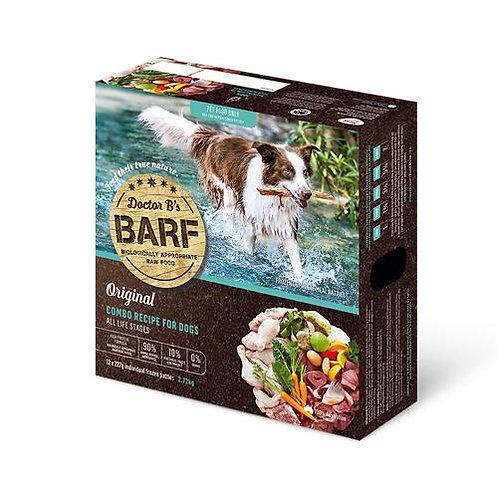 Dr B Barf Dog Food COMBO RECIPE 2.7kg (12 x 227g) (FROZEN)