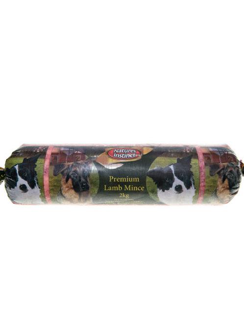 2kg Natures Instinct Lamb Mince (FROZEN)