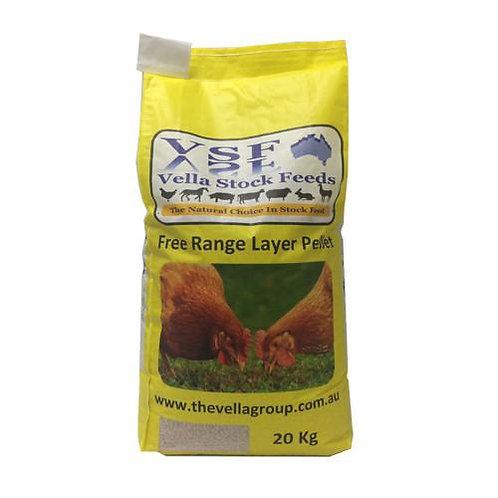 Poultry: Vella Free Range Layer Pellets