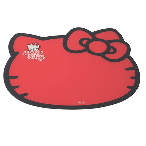 Hello Kitty: Feeding Mat Red