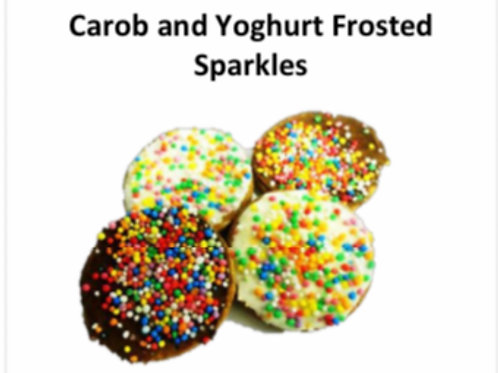 5PK Small Carob and Yoghurt Sparkles