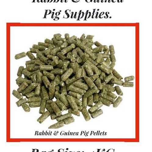 Rabbit & Guinea Pig: Pellets