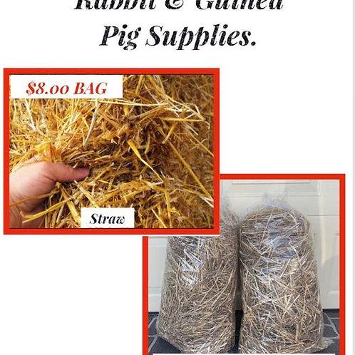 1Bag: Rabbit & Guinea Pig: Straw