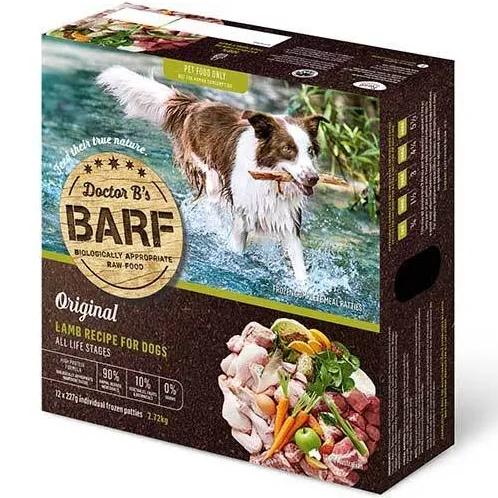Dr B Barf Dog Food LAMB RECIPE 2.7kg (12 x 227g) (FROZEN)