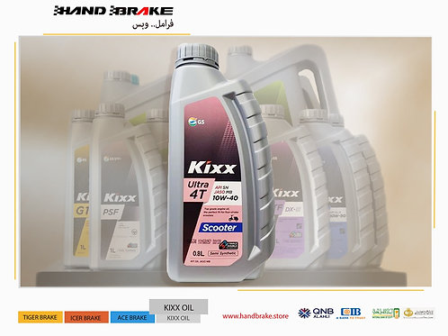 KIXX Ultra  4T  Scooter SN10w-40 .800 ML
