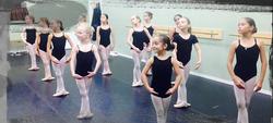 kids in ballet shoes