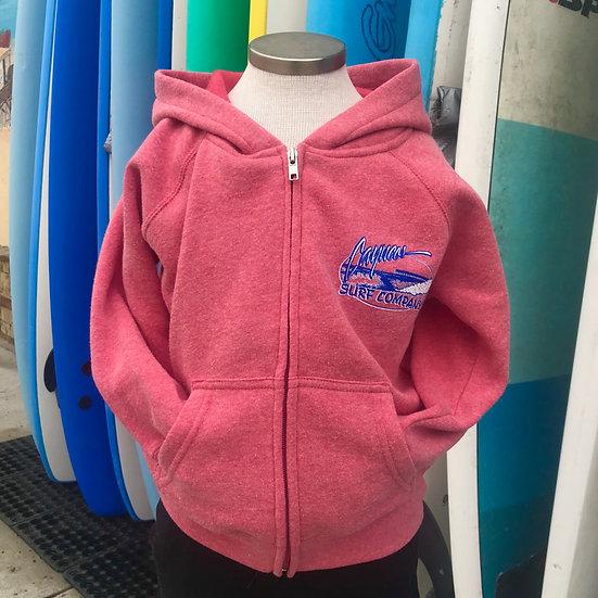 Cayucos Surf Company Kids Old Pier Zip Hoodie