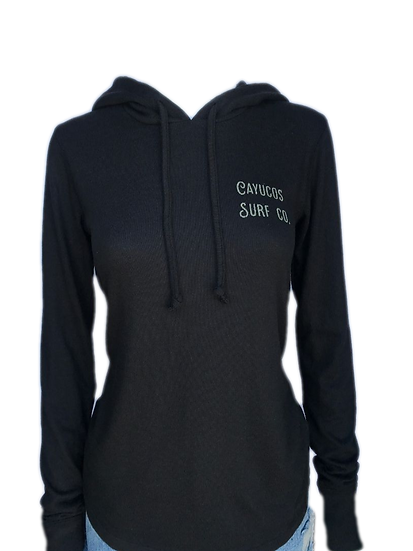 Cayucos Surf Company Womens Seabreeze Pullover Hoodie