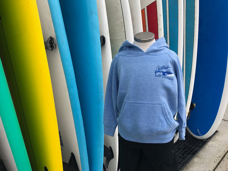 Cayucos Surf Company Kids Old Pier Pullover Hoodie