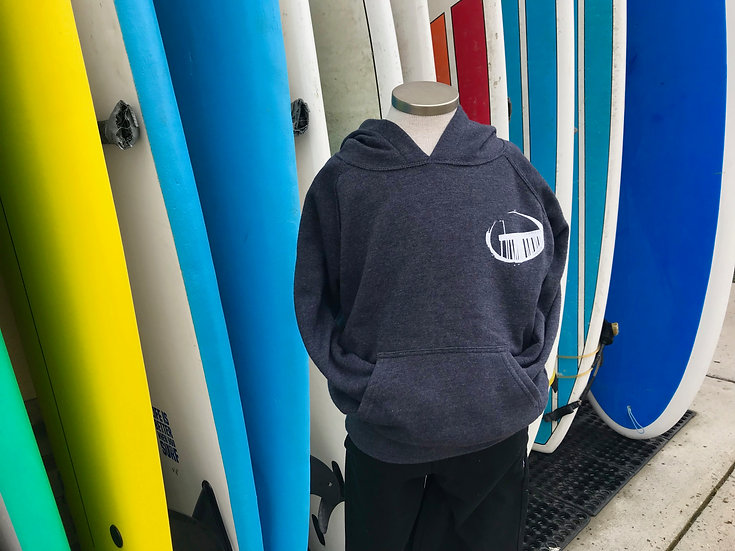 Cayucos Surf Company Kids New Pier Pullover Hoodie