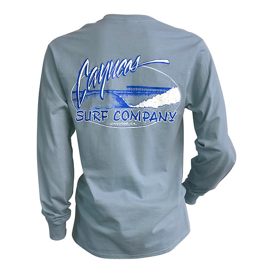 Cayucos Surf Company Old Pier Long Sleeve