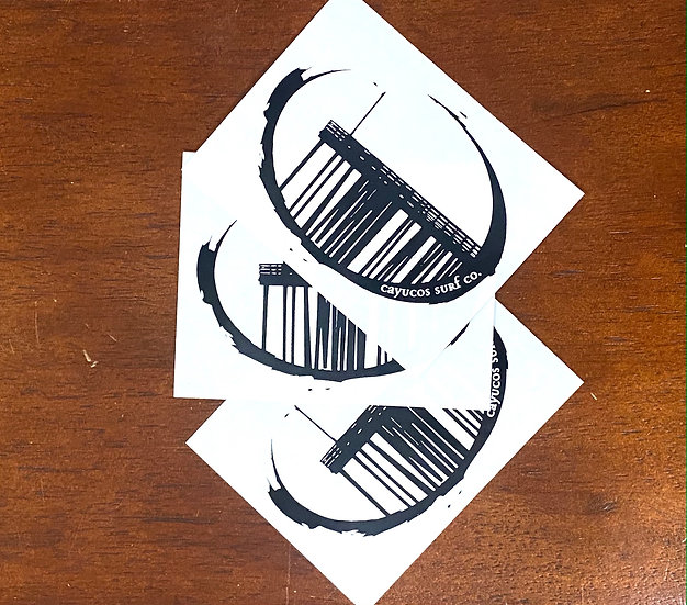 3 Pack New Pier Stickers