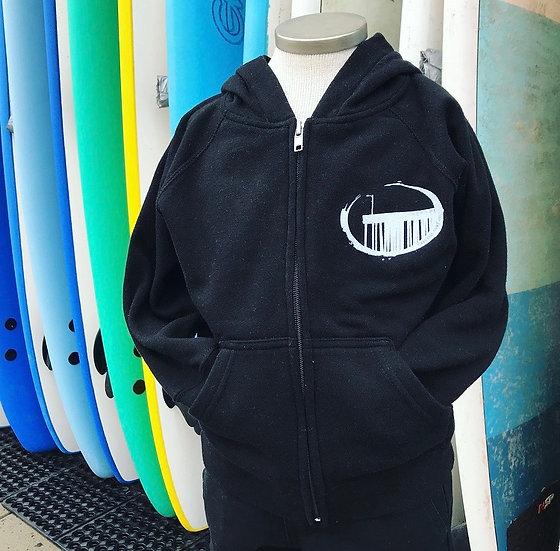 Cayucos Surf Company Kids New Pier Zip Hoodie