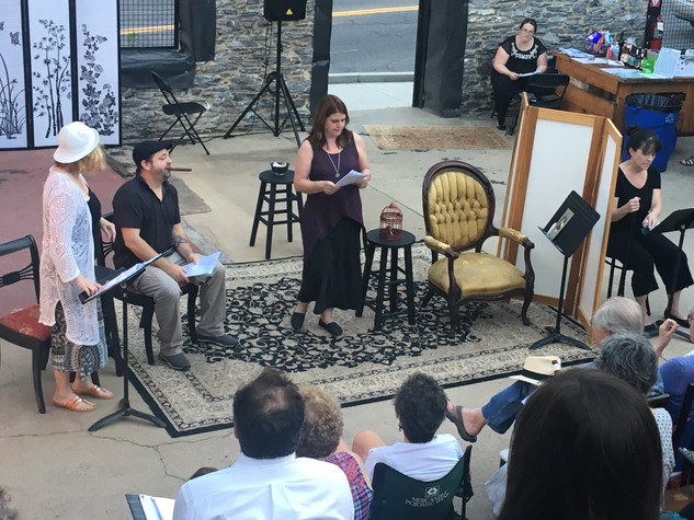 Ten by Tennessee - staged reading at Sky Stage