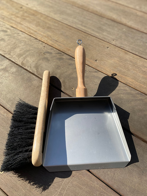 Medium 200mm Dustpan & Brush