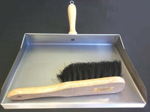 Large 350mm Dustpan and Brush