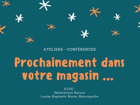 Une nouvelle série d'ateliers - conférences à Voiron